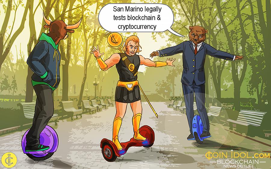San Marino Legally Tests Blockchain & Cryptocurrency • Newbium