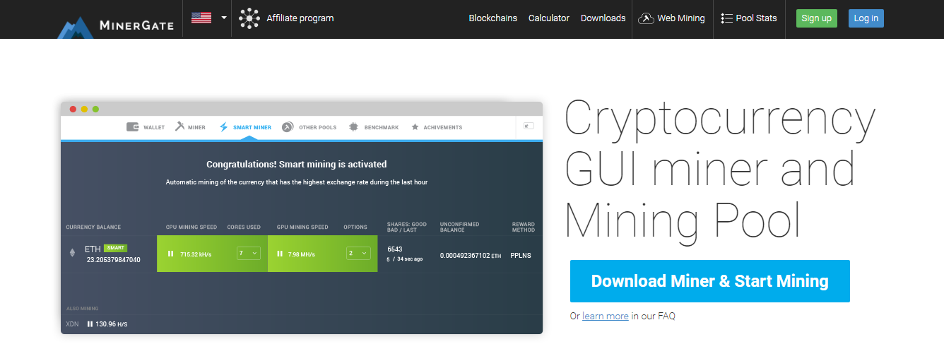 How to Mine XMR through Minergate • Newbium