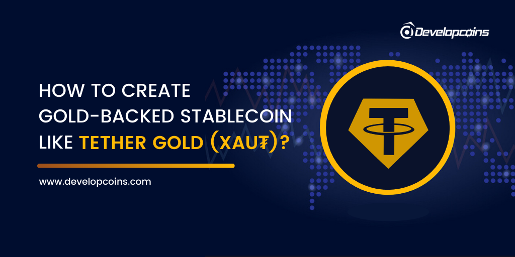 how is gold backed cryptocurrency created