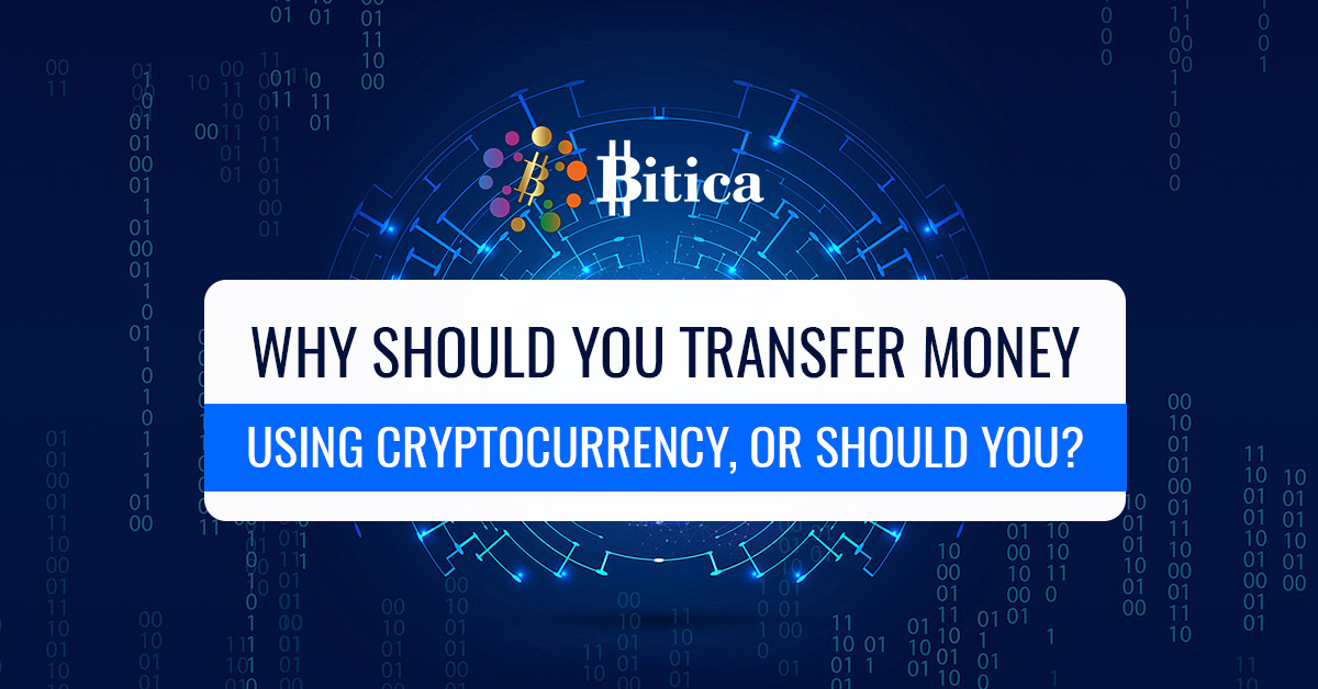 how to transfer money using cryptocurrency
