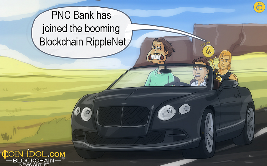 PNC Bank Joins Ripple, Becomes First US Bank to Use