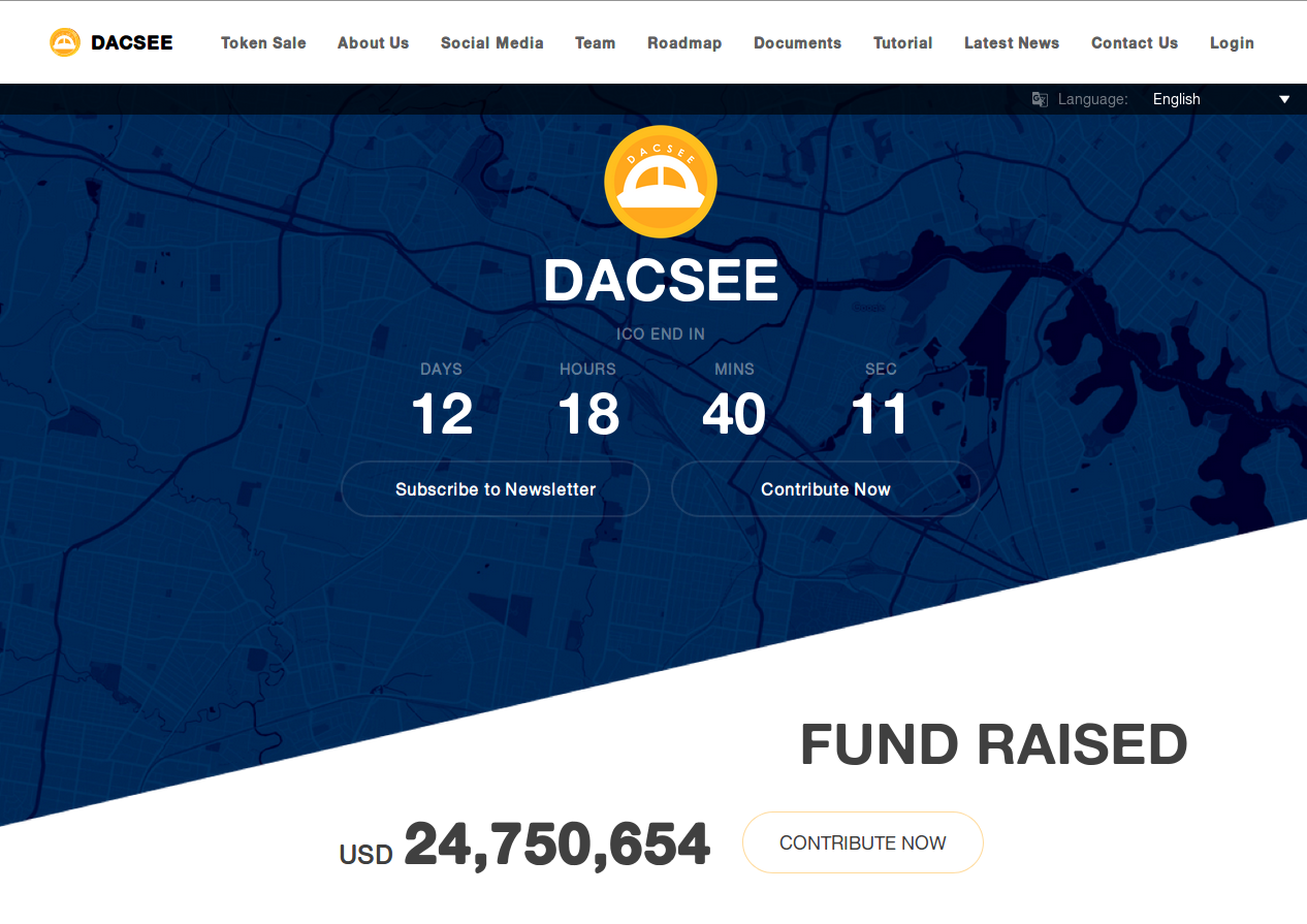 DACSEE — top global business ecosystem that will link all taxi